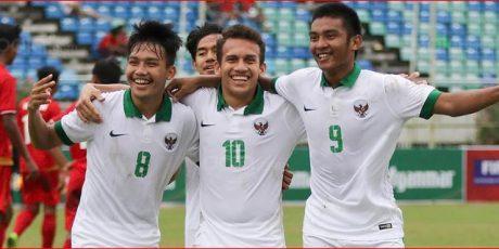 Timnas Garuda Muda Cukur Myanmar 7-1 Raih Posisi Tiga