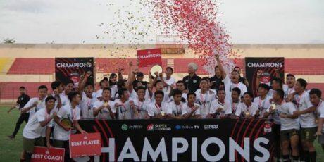 Tira Persikabo Sebagai Juara EPA Liga1 U-16